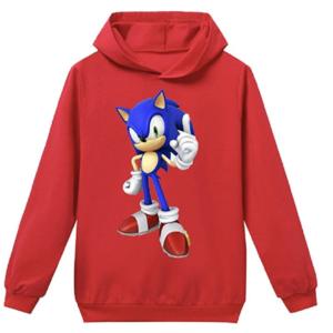 Sega Kids Sonic The Hedgehog Costume Hoodie Formtech Inc Com