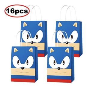 16 sonic party bags