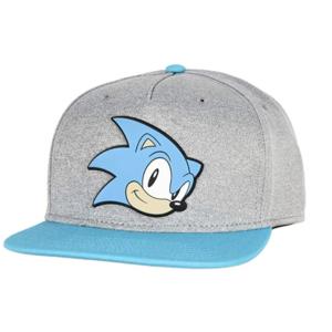 One Size Sonic Mens Classic Baseball Cap Grey