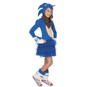 NEW Sonic the Hedgehog KNUCKLES the ECHIDNA COSTUME Child Girls Medium Halloween