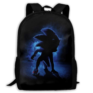 Sonic The Hedgehog School Backpack Lunch Bag Set School Bag Boys Girls Bookbag
