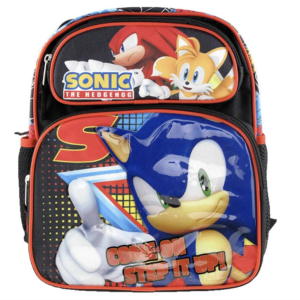 "Sonic Large 12"" Mid Size Backpack - Step It Up - 19190"
