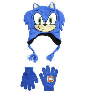 Sonic The Hedgehog Boys' Little Sonic Winter Beanie