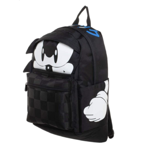 Sonic The Hedgehog Kanji Text Laptop Backpack