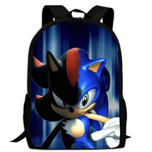 VSHFGC Sonic The Hedgehog and Shadow Children's School Bags Printing Backpacks Kids Daypack For Boys Girls