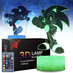 Sonic The Hedgehog Night Light
